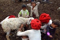 Tribus de Banjara en Inde photo libre de droits