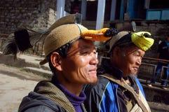 Tribus de la montaña en la India Foto de archivo