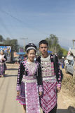 Tribus de s Hmong del Año Nuevo ' Foto de archivo libre de regalías