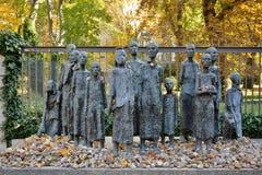 Tribut judaico na rua de Berlim imagens de stock