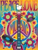 Tribut zu Woodstock vektor abbildung