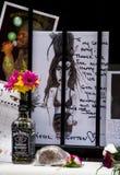 Tribut zum Amy Winehouse Stockbild