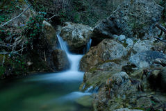 Tributary stream of Vesubie river near Rochebiliere, France Stock Photography
