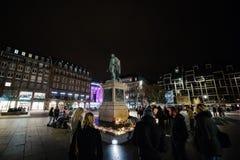 Tribute, die ausgebreitet werden, nachdem das Paris Paris-Angriffe af in Angriff nimmt Stockbild