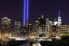 Tribute in Light Stock Photography