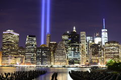 Tribute in Light Royalty Free Stock Image