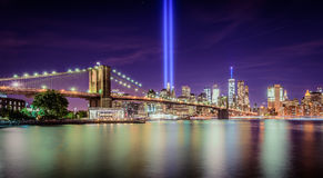 Tribute in Light royalty free stock images