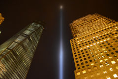 Tribute in Light Royalty Free Stock Photo