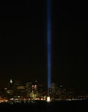 Tribute in Lights. WTC, New York City Stock Photos