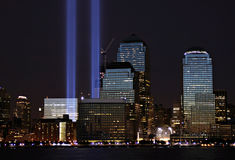 Tribute In Lights Royalty Free Stock Image