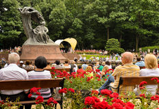 Tribute to Chopin open concert, Warsaw