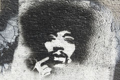 Tribute to Jimmy Hendrix Royalty Free Stock Image