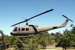 Tribute to the Military. National Guard Helicopter Stock Photography