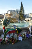 Tribute to Nelson Mandela Stock Photo