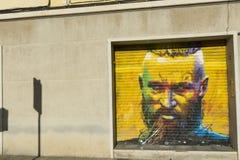 Tribute to the Viking Ragnar Lodbrok Stock Photo