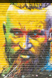 Tribute to the Viking Ragnar Lodbrok Stock Photography