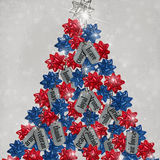 Military Dog Tag Christmas Tree Royalty Free Stock Images