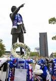 Tributes to Bobby Robson Royalty Free Stock Photos