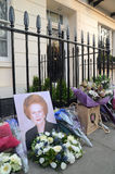 Tributes To Ex British Prime Minster Margret Thatcher Who Died L. London - April 8: Tributes for Ex British Prime Minster Margret Thatcher Victoria in London Royalty Free Stock Photography