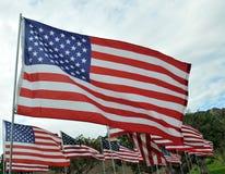 Tributo agli eroi di 9/11 Fotografia Stock
