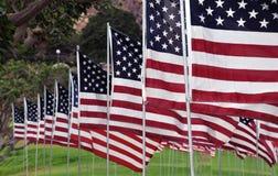 Tributo aos heróis de 9/11 Fotografia de Stock Royalty Free