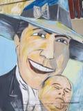Tributo a Carlos Gardel em San Telmo Market, Buenos Aires, Arge Fotos de Stock Royalty Free