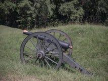 Tributo de Canon Vicksburg Mississippi de la guerra civil Fotos de archivo