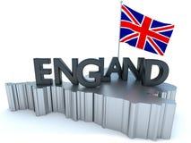 Tributo de Inglaterra Foto de archivo libre de regalías
