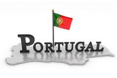 Tributo de Portugal Imagen de archivo libre de regalías