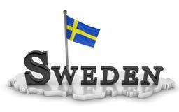 Tributo de Suecia Imagenes de archivo