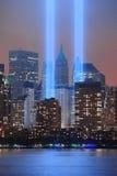 Tributo dell'11 settembre Fotografia Stock