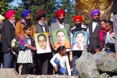 Tributo delle vittime dell'azienda agricola Fotografie Stock Libere da Diritti