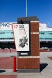 Tributo jubilado Philip Rivers del número de NCSU Imagen de archivo