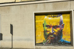 Tributo a Viking Ragnar Lodbrok foto de stock