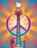 Tributo a Woodstock ilustração stock