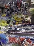 Tributos florales Fotos de archivo