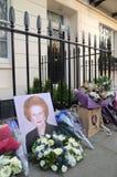 Tributos a la ex iglesia de monasterio primera británica Margret Thatcher Who Died L Fotografía de archivo libre de regalías