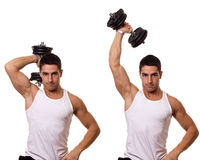 Tricep Extension Stock Image