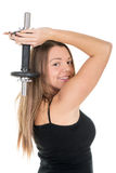 Triceps Royalty Free Stock Image