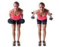 Triceps Kickback Stock Photos