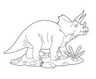 triceratops Στοκ εικόνα με δικαίωμα ελεύθερης χρήσης