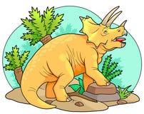 triceratops Photo stock