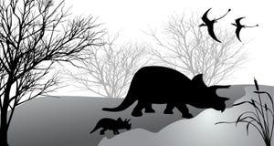 triceratops Διανυσματική απεικόνιση