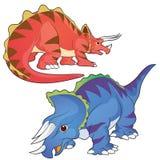 triceratops ilustração do vetor