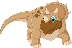 Triceratops cartoon Royalty Free Stock Photography