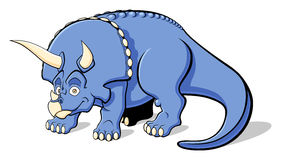 Triceratops for children Royalty Free Stock Images
