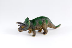 Triceratops, dinosaur toy Royalty Free Stock Image