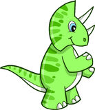 Triceratops Dinosaur Vector Royalty Free Stock Images