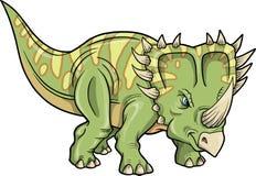 Triceratops-Dinosaurier stock abbildung