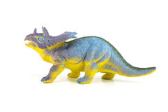 Triceratops dinosaurs toy Stock Photos